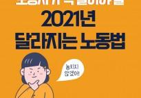 2021년 달라지는 노동법